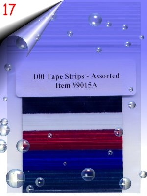 100-Tape-Strips-Assorted