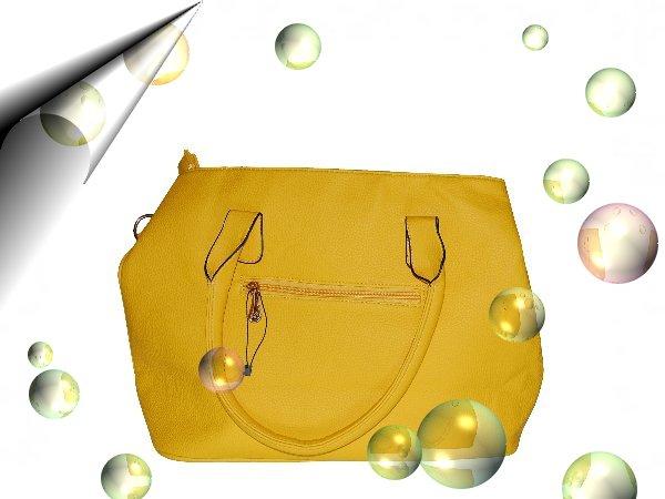 Italienische-Damentasche-Gelb-Nr2
