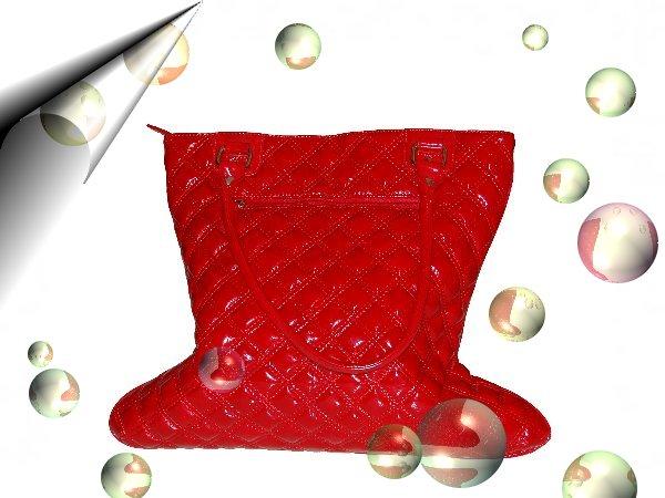 Italienische-Damentasche-Lack-Rot-Gross-Nr2