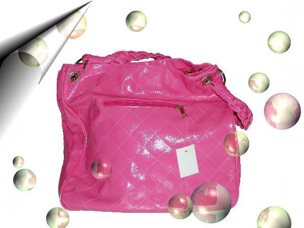 Italienische-Modetasche-Neon-Pink-Nr2