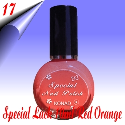 Konad-Stamping-Lack-Orange-Rot-Nr17