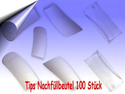 Nagel-Tips-Beutel-100Stueck