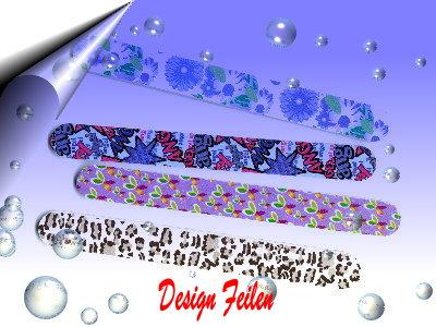 Nagelfeilen-Design