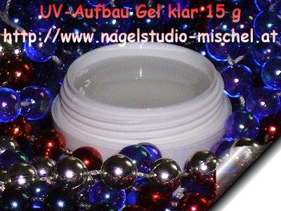 UV-Aufbau-Gel-Klar-15g