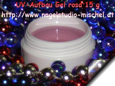 UV-Aufbau-Gel-Rosa-15g