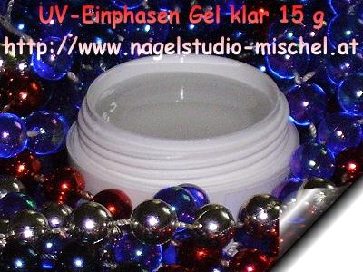 UV-Einphasen-Gel-Klar-15g