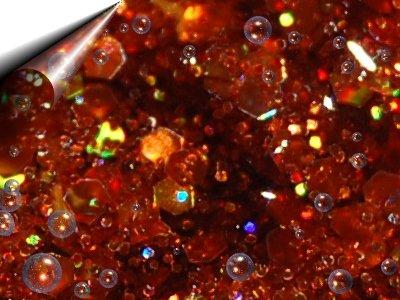 UV-Einphasen-Glitter-Gel-Crisp-Effektgel-Kupfer-5gr