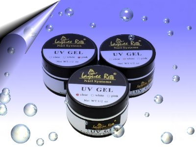 UV-Gel-Klar-Rosa-French-Weiss-3er-Set