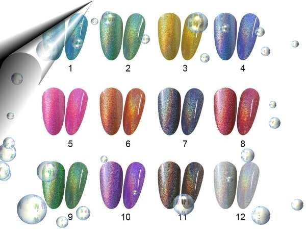 UV-Led-Soak-Off-Gel-Polish-Regenbogen-Farbpalette